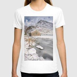 Frozen Lake Snowdonia T-shirt