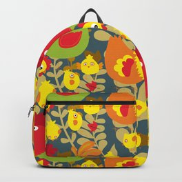 Chickens in the Farmyard Backpack