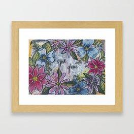 Give Grace Framed Art Print