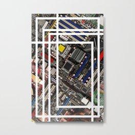 Computer boards Metal Print