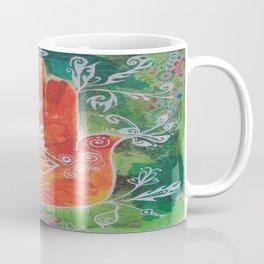 Hamsa Hand in Oranges Coffee Mug