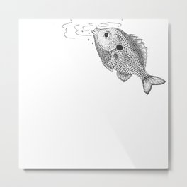 Little Bluegill Metal Print