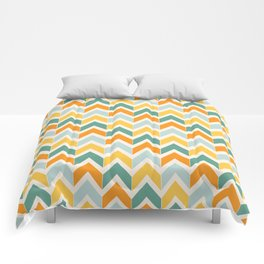 Citrus Chevron Comforters