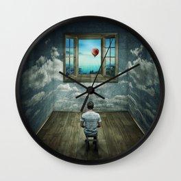 abstract window Wall Clock