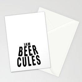 i m beer  - I love beer Stationery Cards