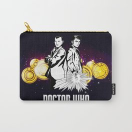 Doctor Who With Gallifrey Steampunk Carry-All Pouch