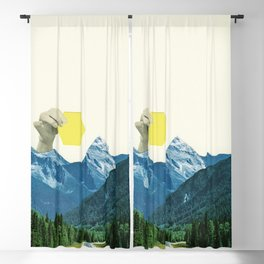 Moving Mountains Blackout Curtain