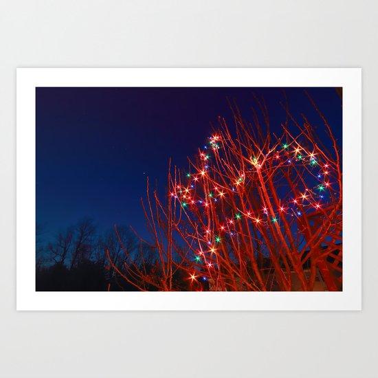 twinkle, twinkle Art Print