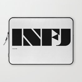 Type Type for INFJ Laptop Sleeve
