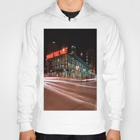 milwaukee Hoodies featuring Milwaukee Public Market by Jonah Anderson