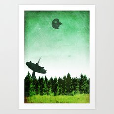 Return of the Jedi Minimalist Design Art Print