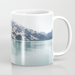 Hubbard Glacier Snowy Mountains Alaska Wilderness Coffee Mug