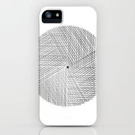 Circular Lines* iPhone Case