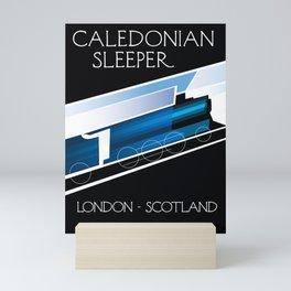 Caledonian Sleeper London Scotland Mini Art Print
