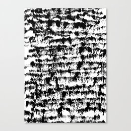 Black Pattern#2 Canvas Print