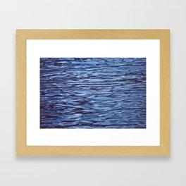 alien ripples Framed Art Print