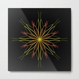 Kaleidoscopic Light Metal Print