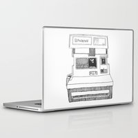 polaroid Laptop & iPad Skins featuring Polaroid by ChanelWhite