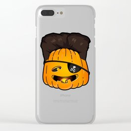 kim jong pumpkins Clear iPhone Case