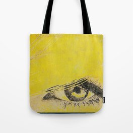 Rare View   Pop-Art Glamour EYE Tote Bag