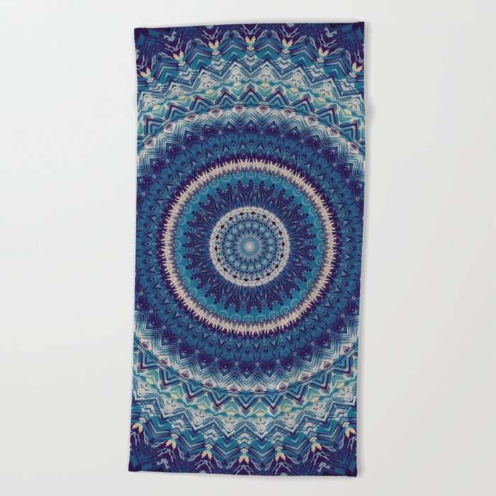 Mandala 477 Beach Towel