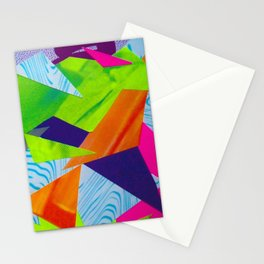 Tumbling Neon Stationery Cards