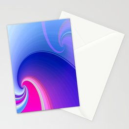 Ride the Wave (purple) Stationery Cards