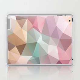 Abstract triangles polygonal pattern Laptop & iPad Skin