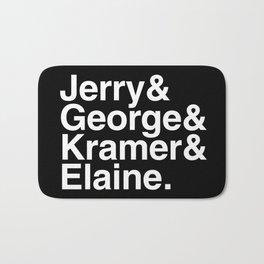 Seinfeld Jetset Bath Mat