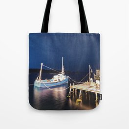 Moored in the Night Tote Bag