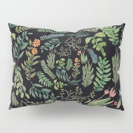 circular garden at nigth Pillow Sham