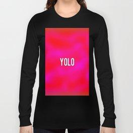 rasberry Long Sleeve T-shirt