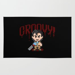 Evil Dead Pixels Rug