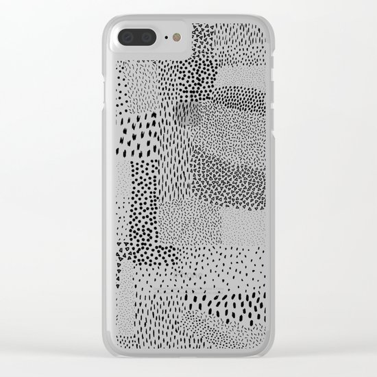 Graphic 81 Clear iPhone Case