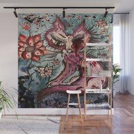 Purgatory Cat Wall Mural