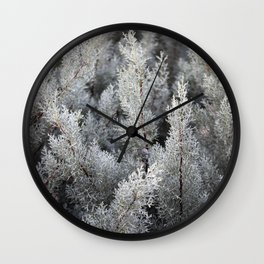 fractal magic Wall Clock