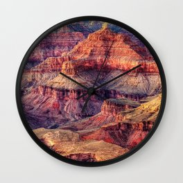 View of the Grand Canyon Wall Clock