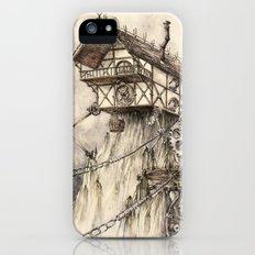 Steampunk House iPhone SE Slim Case