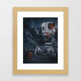 Two Steps From Hell by GEN Z Framed Art Print