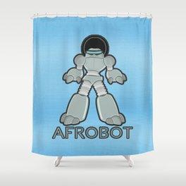 Afrobot Shower Curtain
