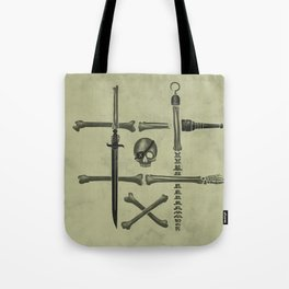 Noughts & Crossbones Tote Bag