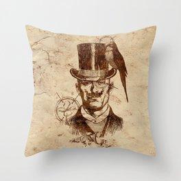 Extraordinary Gentleman Throw Pillow