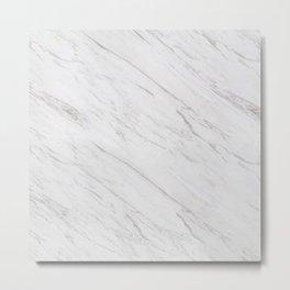 A Marble Metal Print