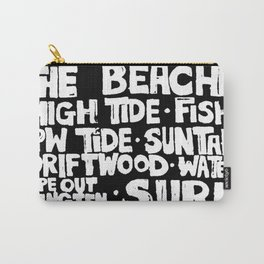 The Beach Subway Art Carry-All Pouch