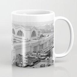 Pennsylvania Station aerial view 1910 Coffee Mug