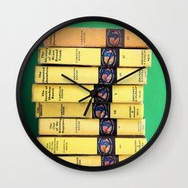 Nancy Drew Stack - Wall Clock