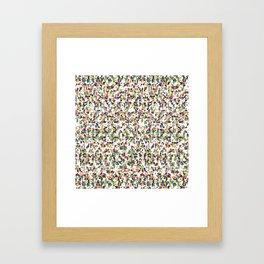 Rice Orchestra Framed Art Print