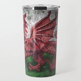 Welsh Dragon Travel Mug