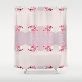 Rose Pattern1 Shower Curtain