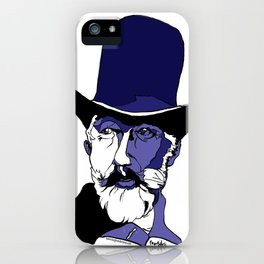 Tchaikovsky composer ballet The Nutcracker, Sleeping Beauty and Swan Lake by Margit van der Zwan iPhone Case